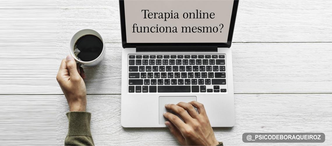 Terapia online funciona mesmo